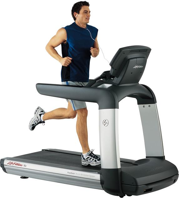 Life Fitness 95T Inspire Commercial Treadmill NEW Floor Model