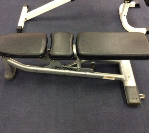 Life Fitness Commercial Flat / Incline Bench