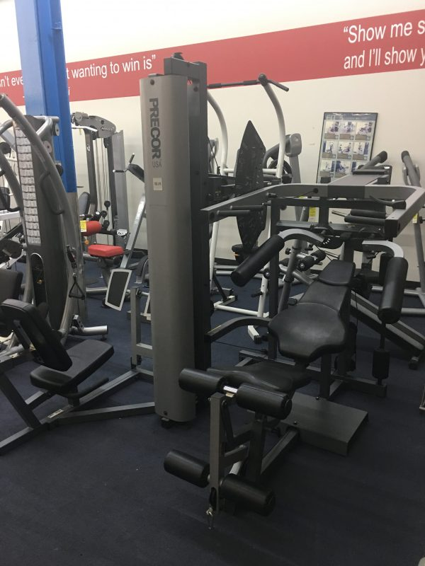 Precor s home gym w leg press preowned fitness