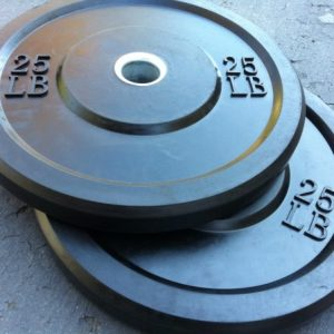 NEW Rubber Bumper Plates 79 cents per pound!