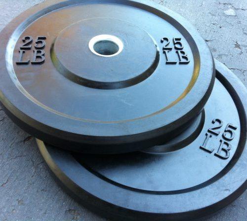 NEW Rubber Bumper Plates 79 cents per pound!