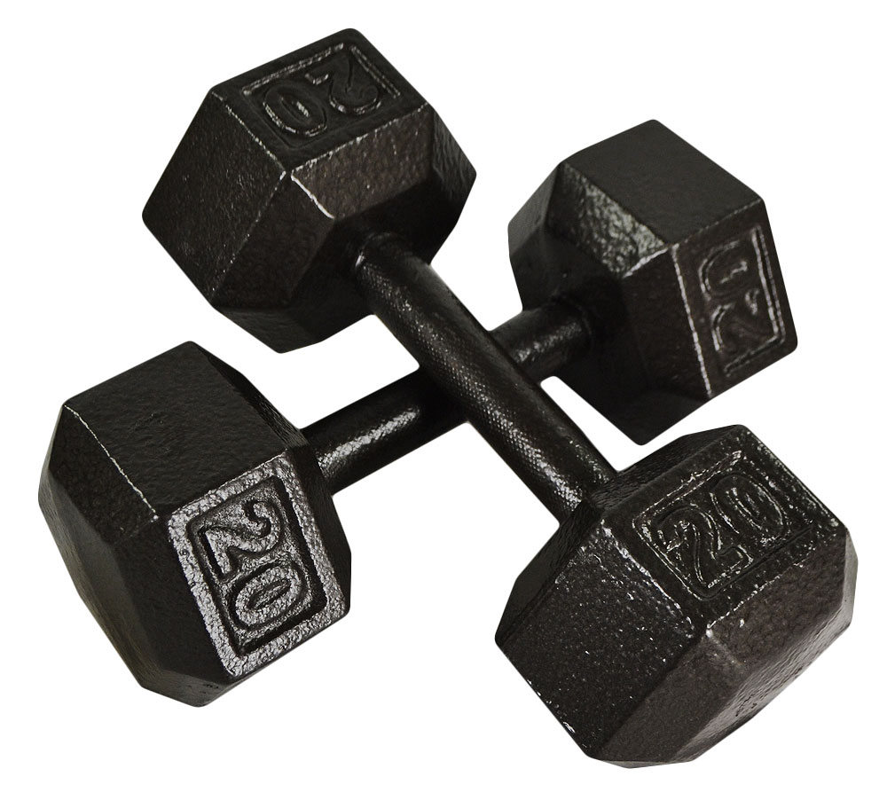 used dumbbells preowned fitness