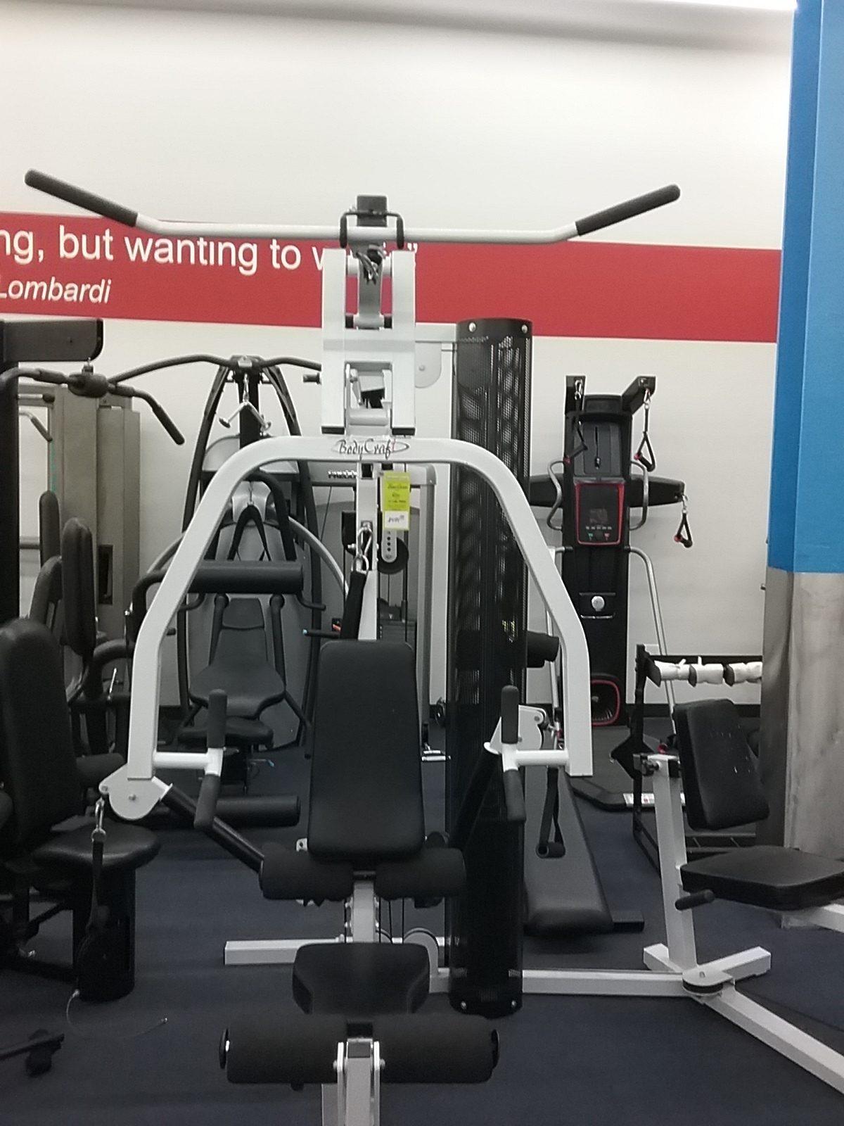 Pre owned body craft home gym w leg press u2013 preowned fitness